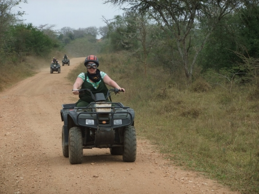 quad biking lake mburo