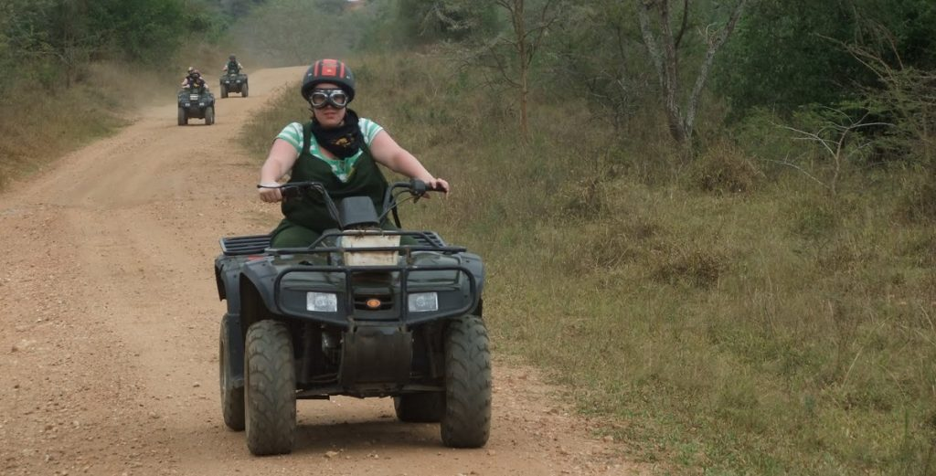 Quad Biking in Lake Mburo National park